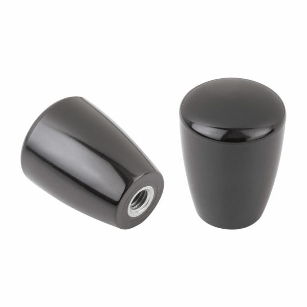 Knob handle thermoset with tapped bush