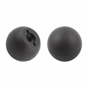 Ball knob matt with plastic thread