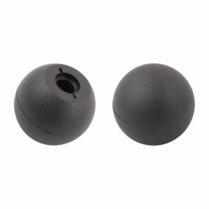 Ball knob, tapered bore, thermoplastic